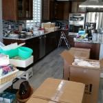 New Kitchen Before Unpacking